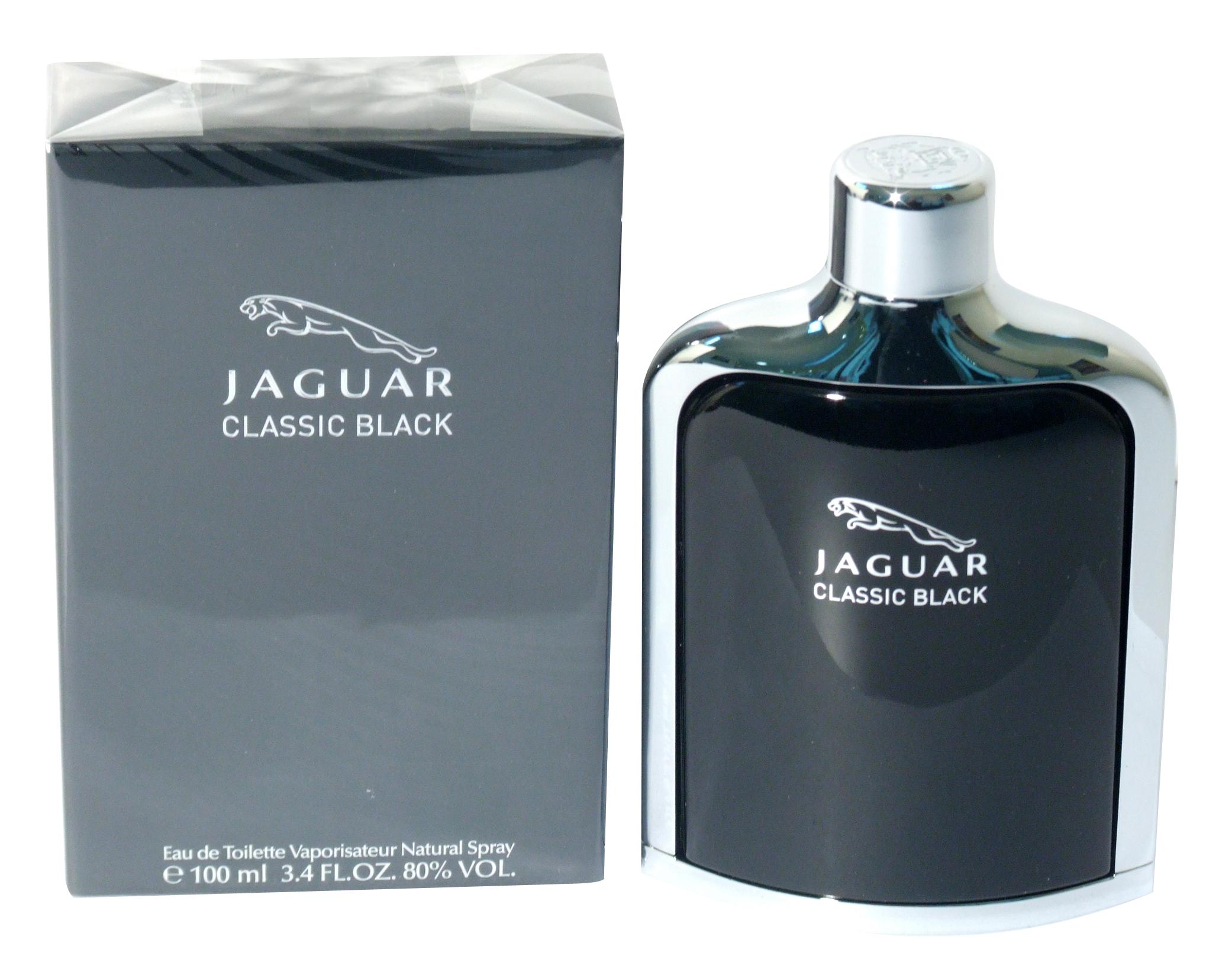 JAGUAR CLASSIC BLACK, 100 ML, א.ד.ט