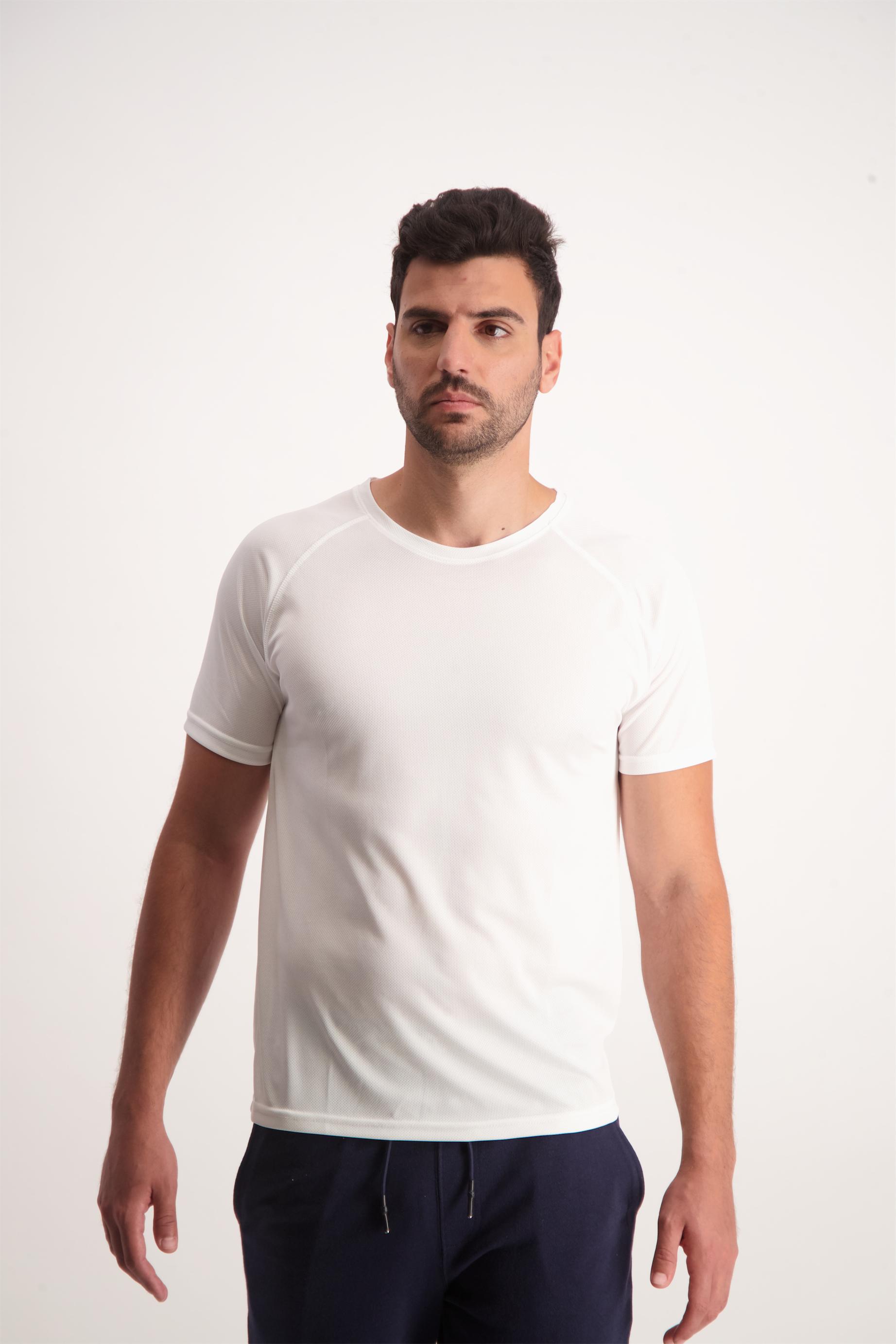 חולצת דריי פיט צוואר עגול לגבר