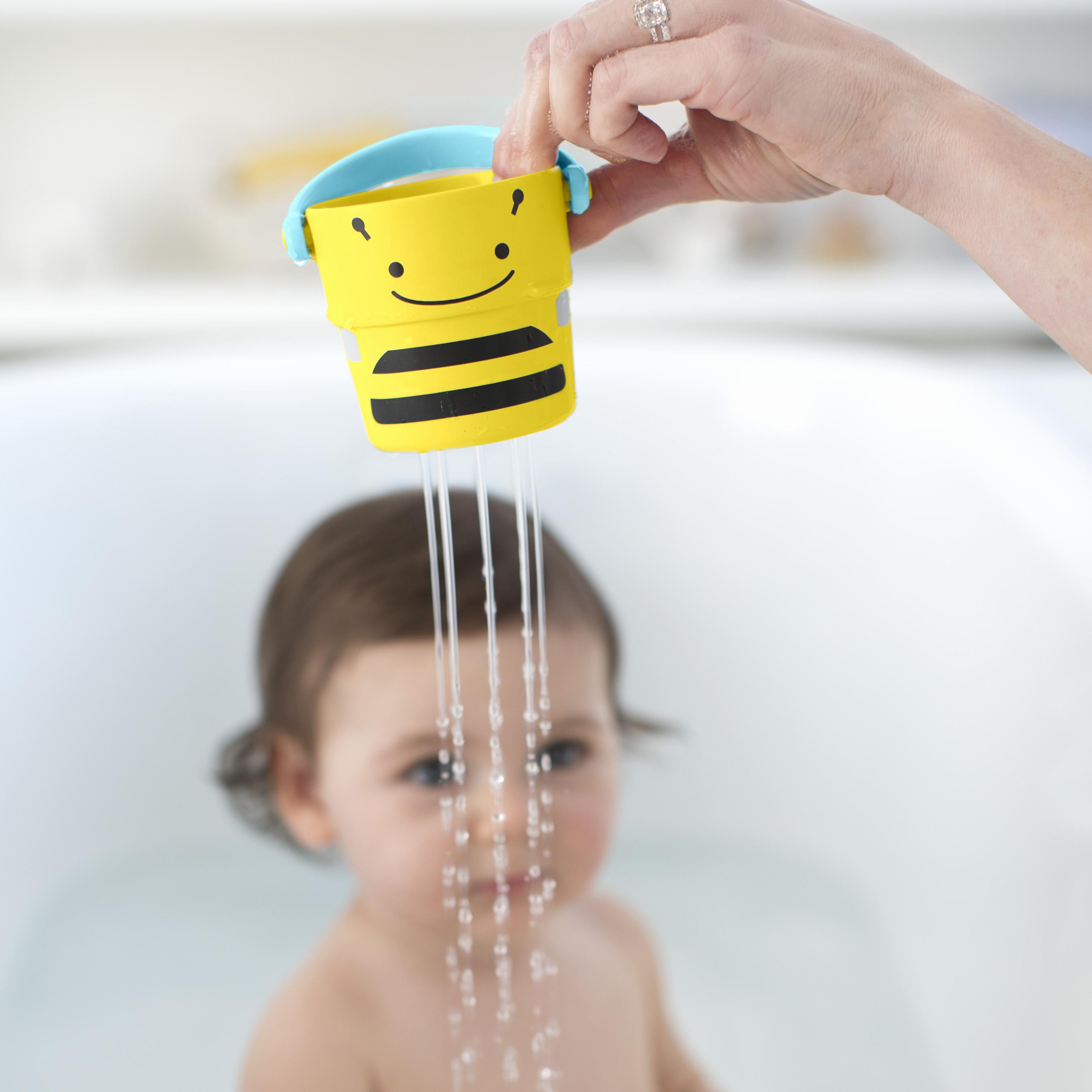 סט חמישיית דלי משחק לאמבטיה